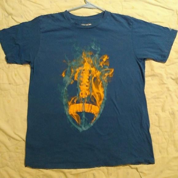 Adidas camisetas futbol azul grande ir a Tee poshmark